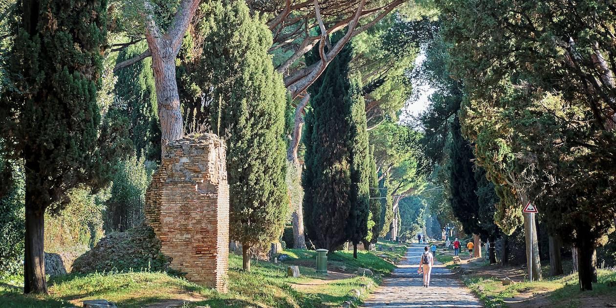 Voie Appienne à Rome - Italie