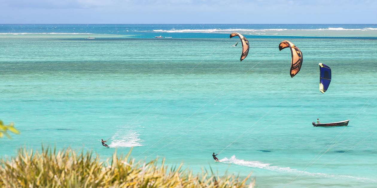 Kitesurf à l'île Rodrigues