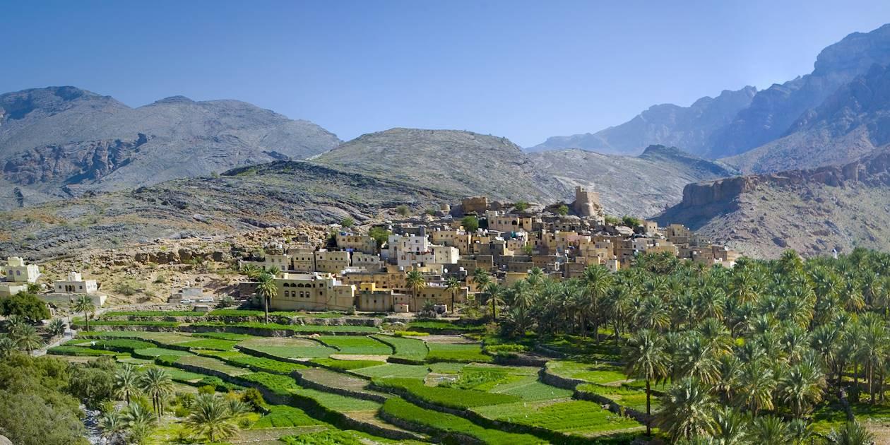 Le village de Bilad Sayt - Sultanat d'Oman
