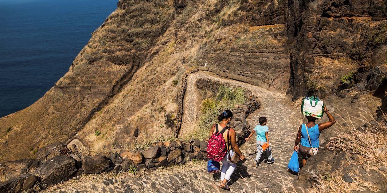 Randonnée sur le sentier côtier - Île de Santo Antao - Cap Vert