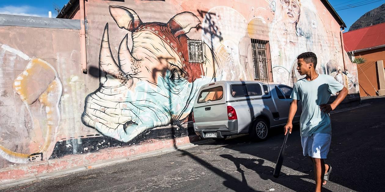 Le quartier de Woodstock et ses fresques murales - Le Cap - Afrique du Sud
