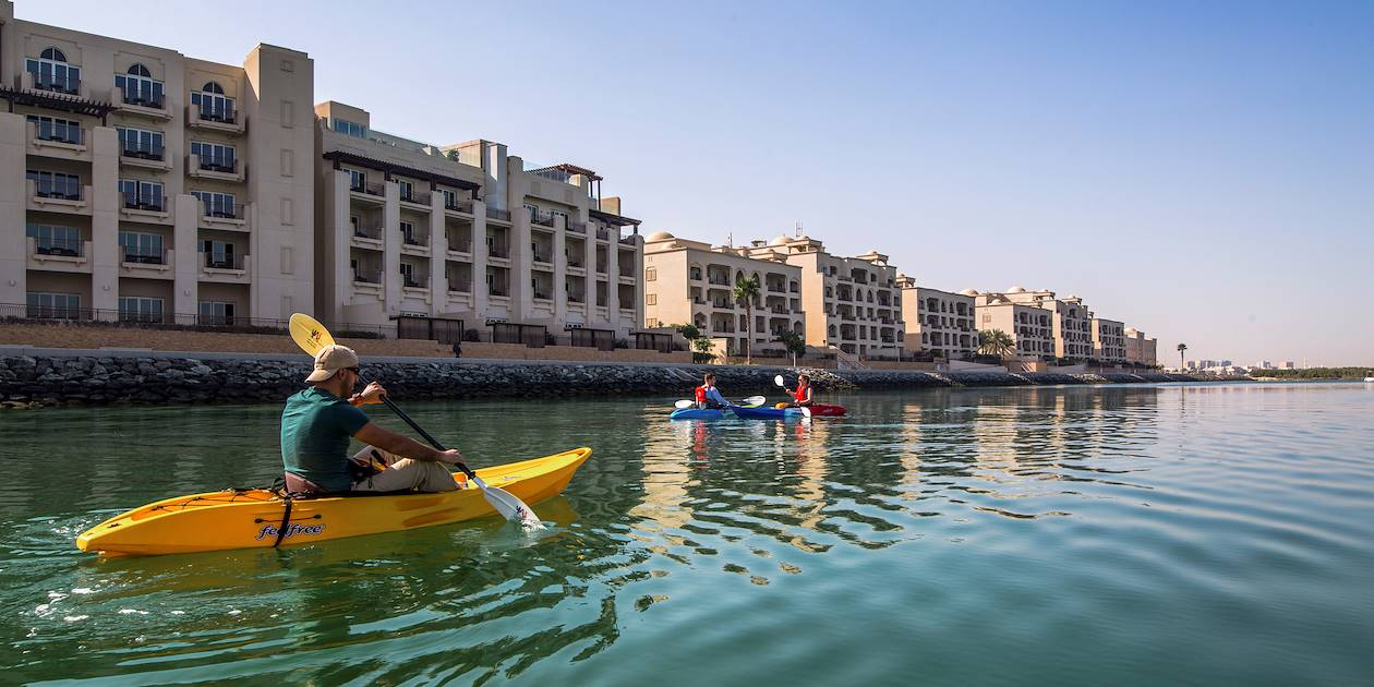 Balade en kayak à Abou Dhabi - Emirats Arabes Unis
