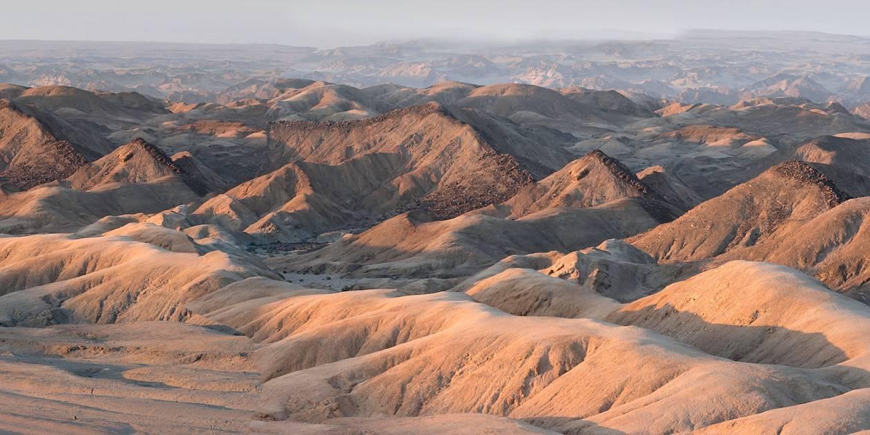 Vallée de la lune - Région d'Erongo - Namibie