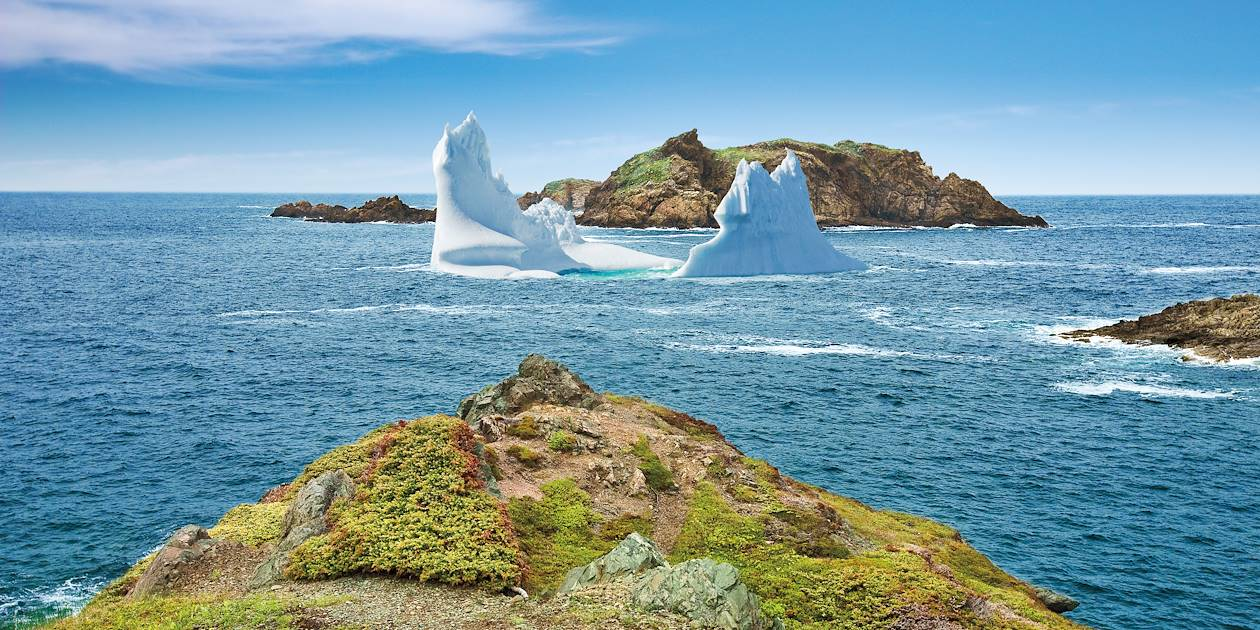 Iceberg au large de Crow Head - îles Toulinguet - Terre-Neuve-et-Labrador - Canada