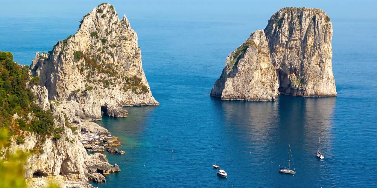 Faraglioni de Capri - Italie