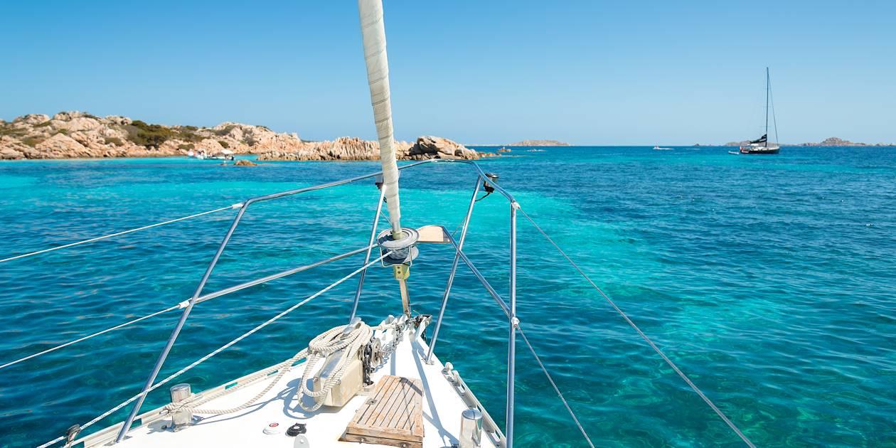 Les Iles de l'archipel Maddalena en voilier - Sardaigne - Italie