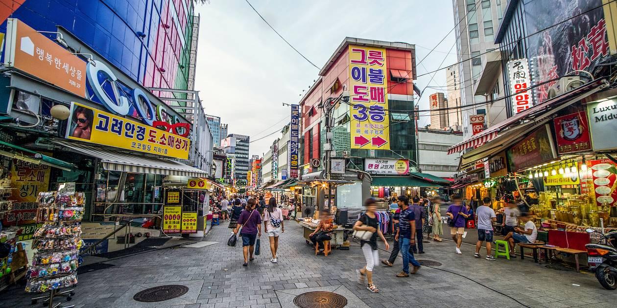 Marché de Namdaemun - Séoul - Corée du Sud