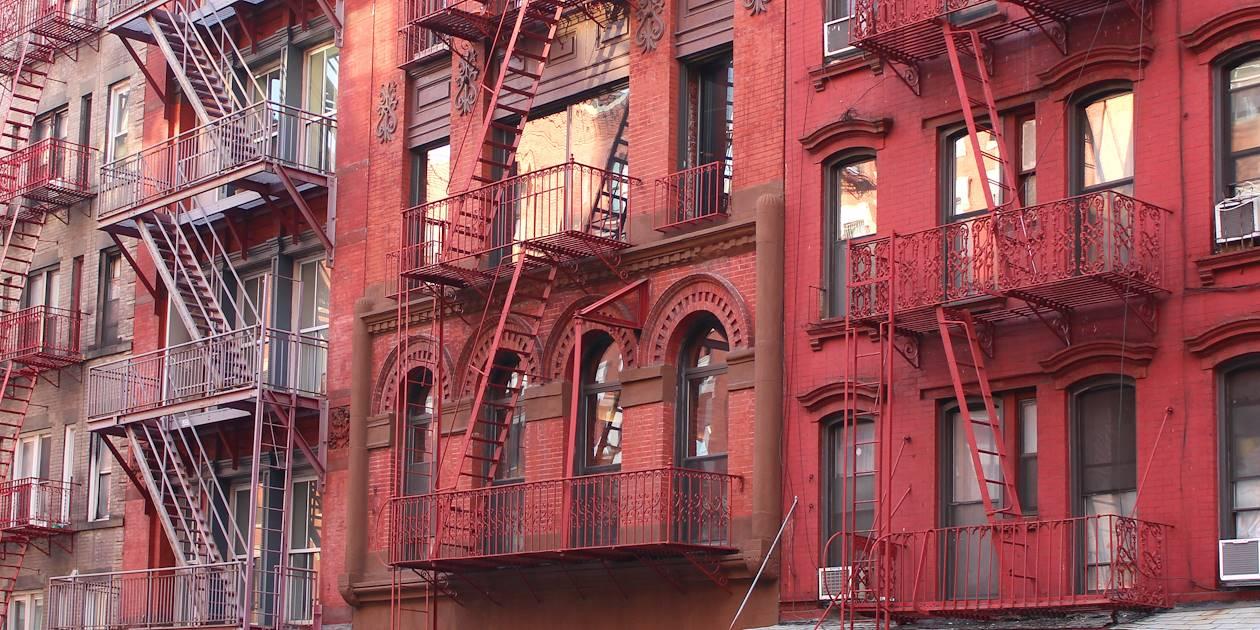 Façade de bâtiment - Soho - New York - Etats Unis