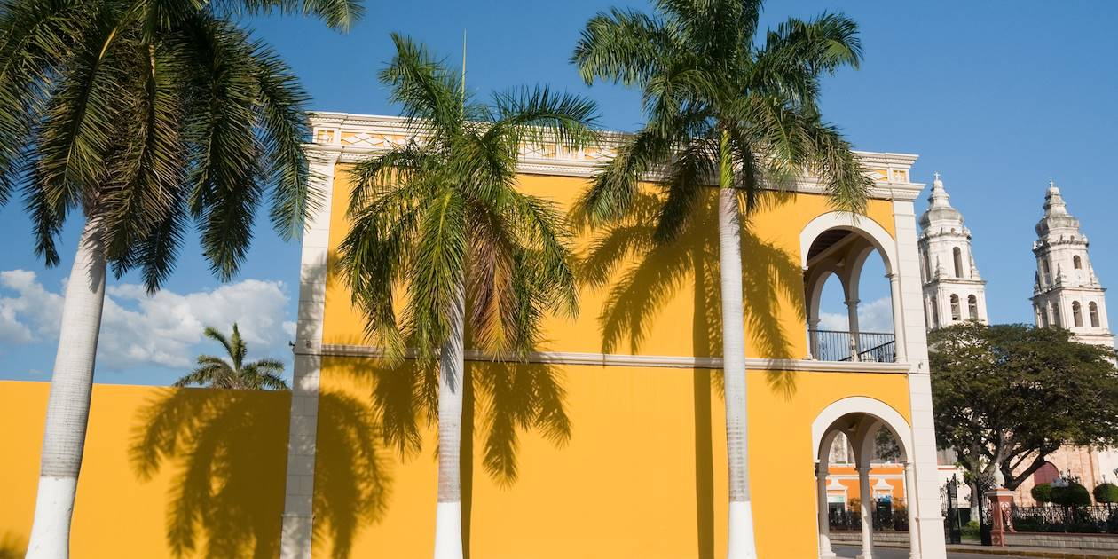 Façade de Campeche - Mexique