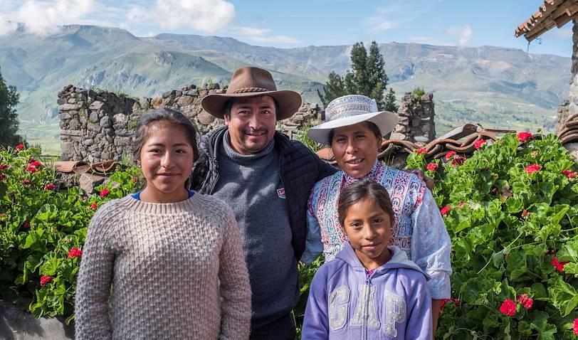 Casa Mamatankara : portrait des propriétaires - Coporaque - Pérou