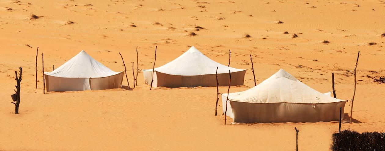 Campement dans le désert - Sénégal
