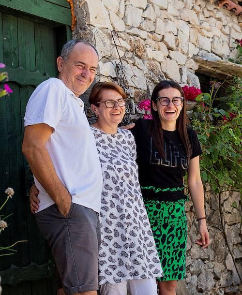 Agriturisme Kalpic : portrait des propriétaires - Lozovac - Croatie