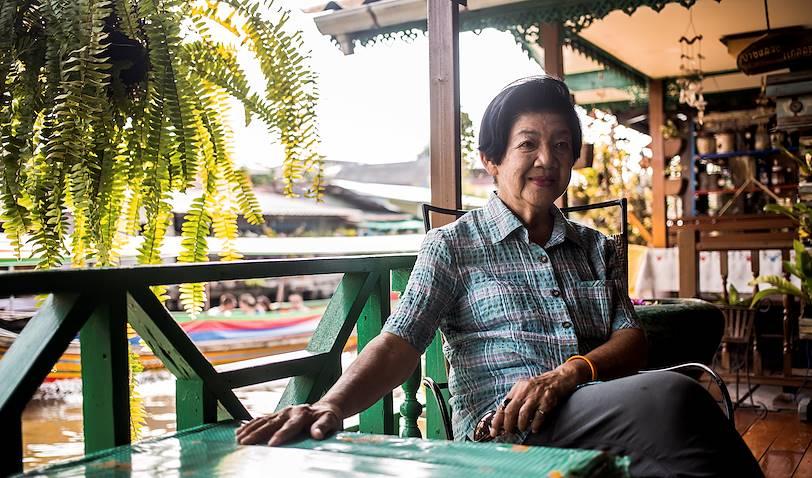 Bang Luang House : portrait de la propriétaire - Bangkok - Thaïlande