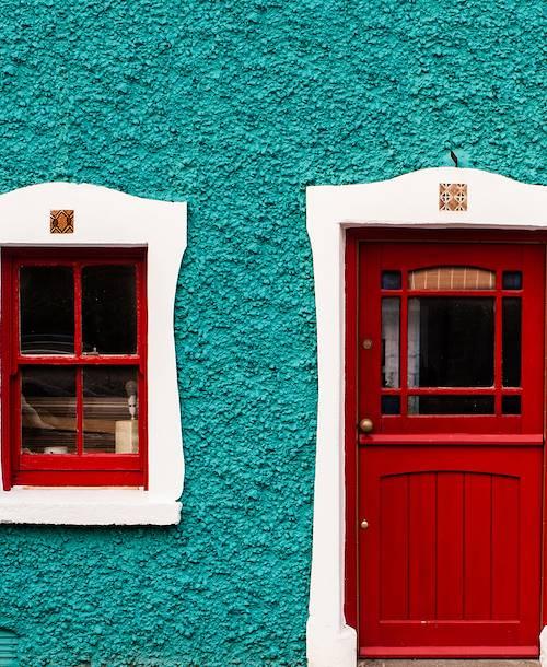 Façade colorée - Irlande