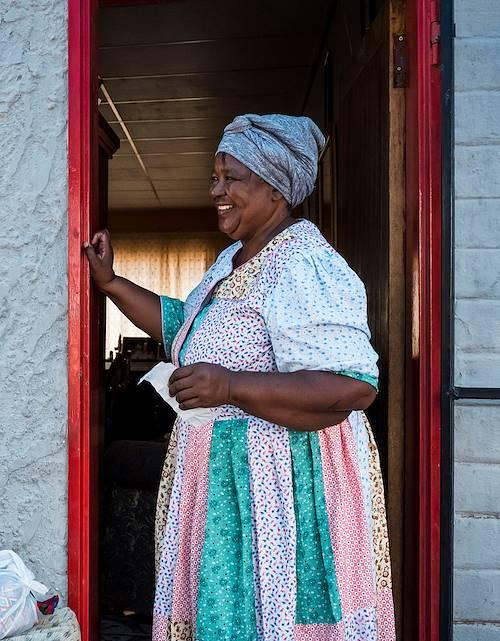 Rebecca's House : déjeuner chez l'habitant - Maltahoe - Désert du Namib - Namibie