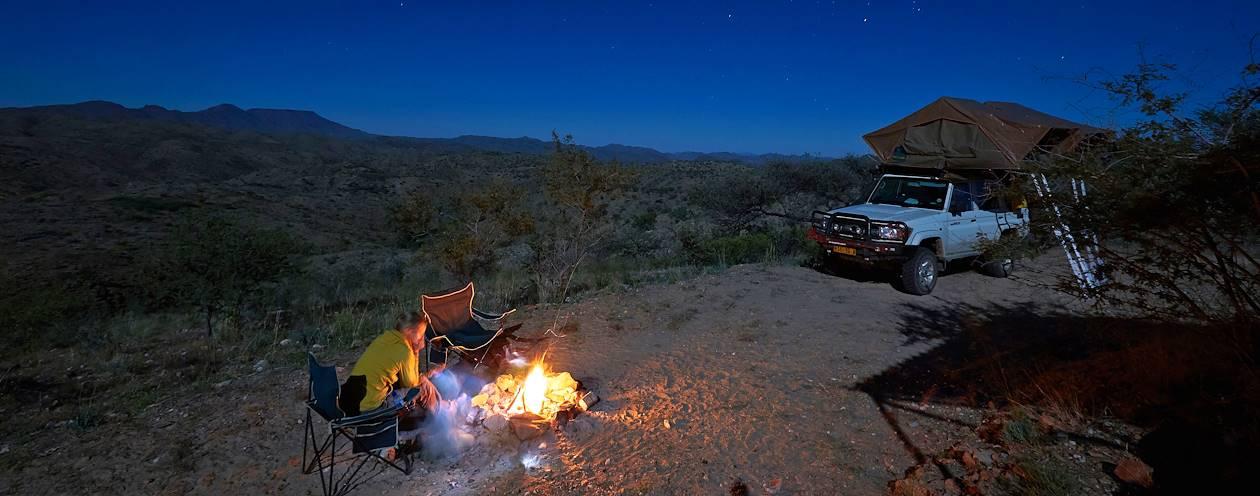 Camping à Gamsberg - Namibie