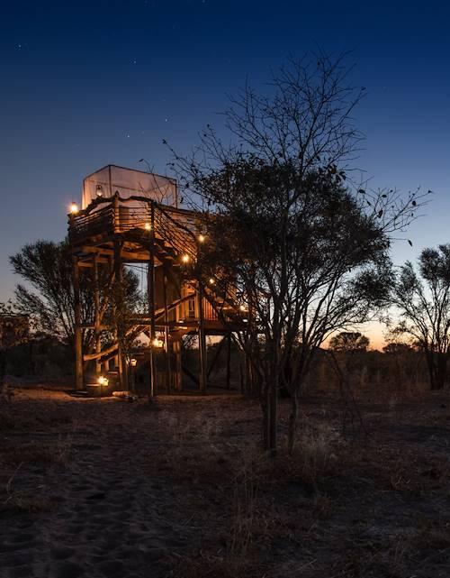 Skybeds - Khwai - Moremi Game Reserve - Botswana