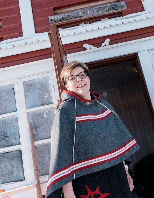 Auberge de Loma Vietonen : portrait du couple propriétaire de l'auberge - Rovaniemi - Laponie - Finlande