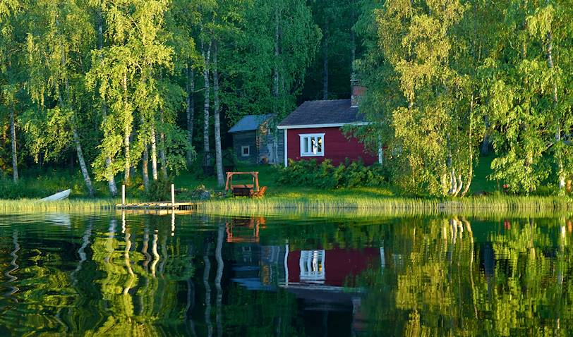 Finlande en été : dormir dans un mökki - Finlande