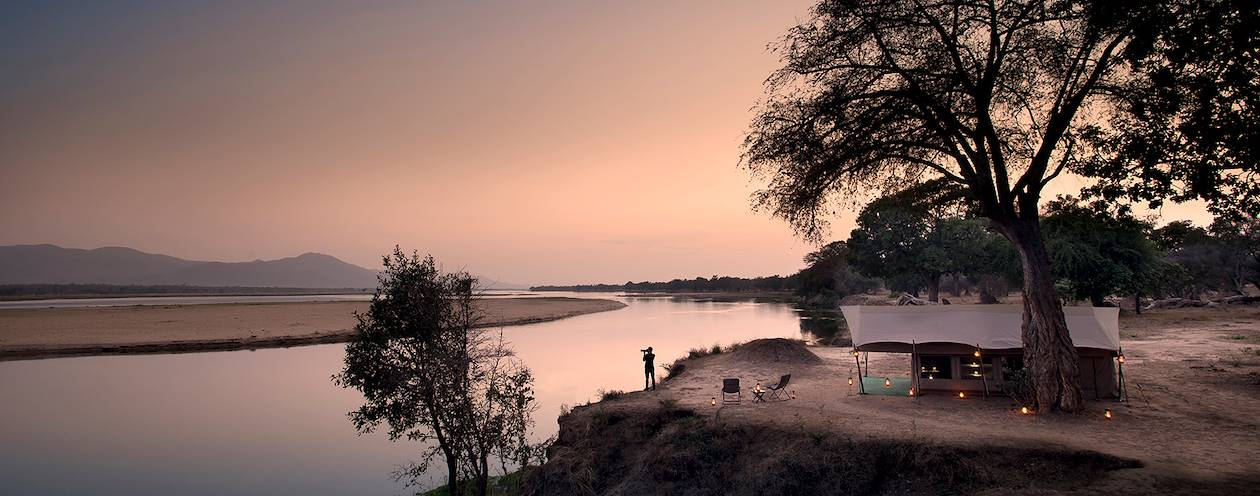 Zambezi Expeditions Camp - Parc de Mana Pools - Zimbabwe