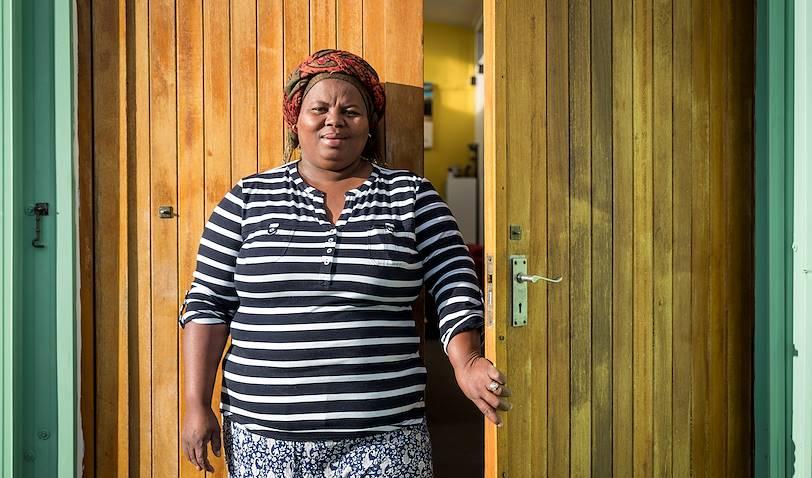 Lungi's B&B : portrait de la propriétaire - Le Cap - Afrique du Sud