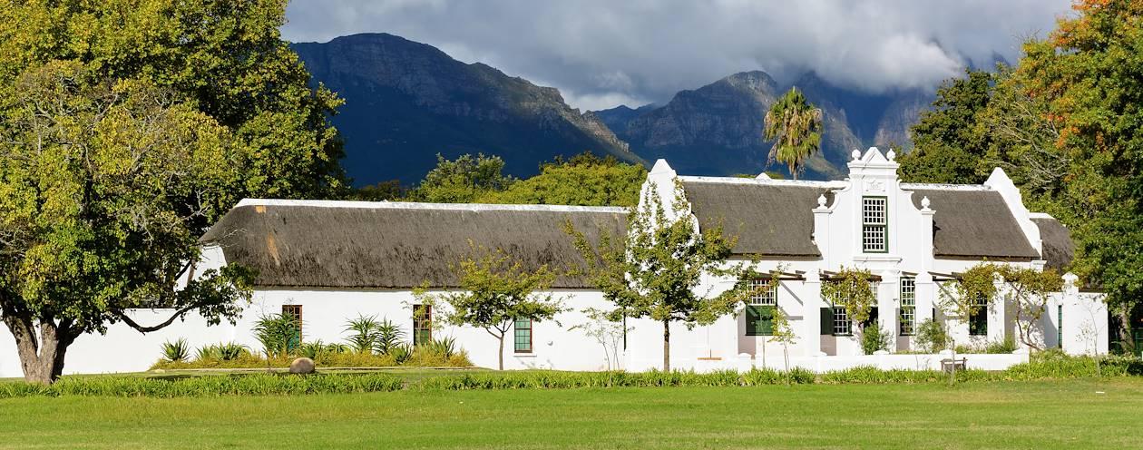 Architecture Cape Dutch - Afrique du Sud