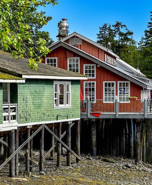Telegraph Cove Resort - Île de Vancouver - Canada