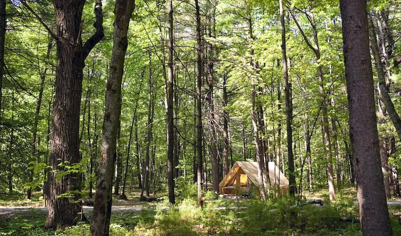 Prêt à camper (Tente Huttopia) - Québec - Canada