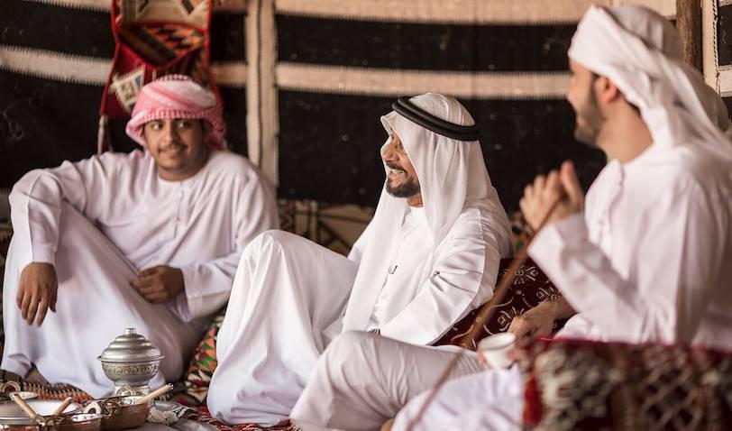 Dans le désert : à la rencontre des bédouins - Dubai - Emirats Arabes Unis