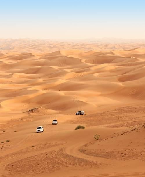 Le désert de Dubaï - Emirats Arabes Unis
