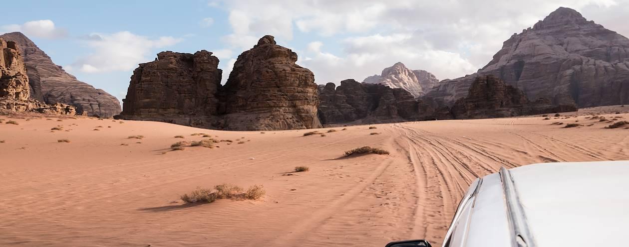 Le désert du Wadi Rum en 4x4 - Wadi Rum - Jordanie