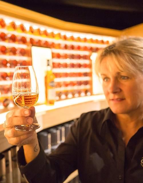 Dégustation de whisky à la distillerie Glengoyne - Dumgoyne - Ecosse