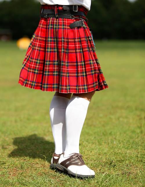Golfeur écossais - Écosse - Royaume-Uni