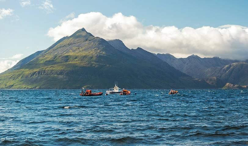 Archipel des Hébrides intérieures en bateau - Île de Skye - Écosse