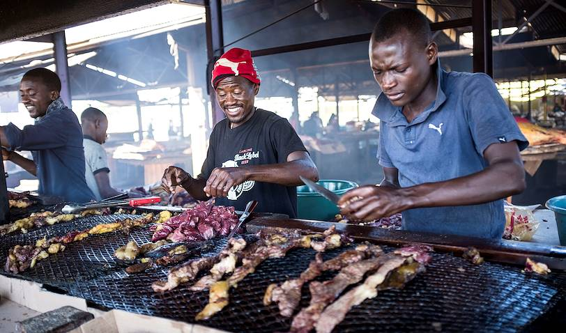 Le quartier de Katutura : le Single Quarters - Windhoek - Namibie