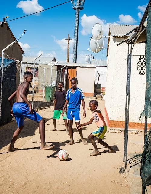Le quartier de Katutura - Windhoek - Namibie