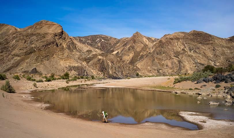 Randonnée dans le canyon - Fish River Canyon - Namibie