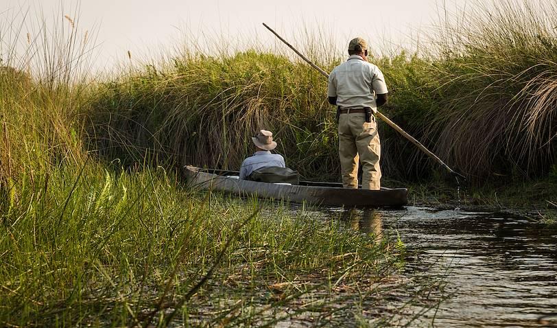 Traversée de la rivière de l'Okavango - Botswana