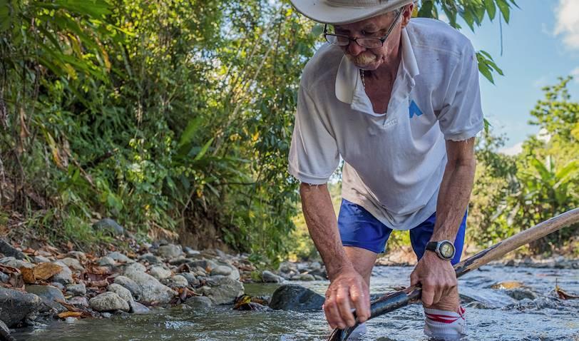 Sur les traces des chercheurs d'or - Puerto Jimenez - Péninsule de Osa - Costa Rica