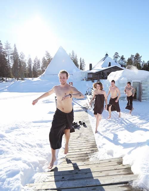 Sauna hivernale - Ruka Kuusamo - Finlande