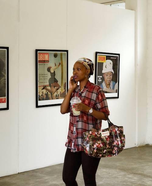 Galerie d'art dans la quartier de Maboneng - Johannesburg - Afrique du Sud