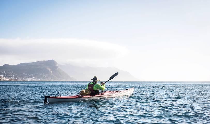 Kayak à Boulders Beach - Simon's Town - Afrique du Sud