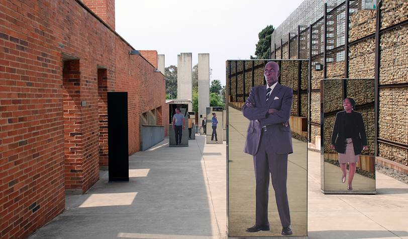 Musée de l'apartheid à Johannesburg - Afrique du Sud