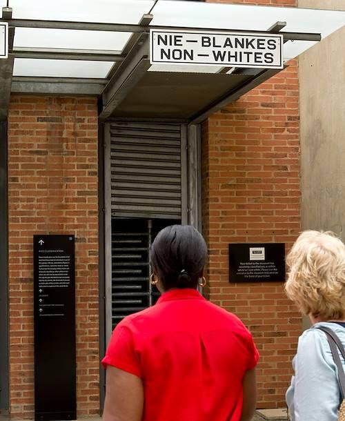 Musée de l'apartheid - Johannesburg - Afrique du Sud