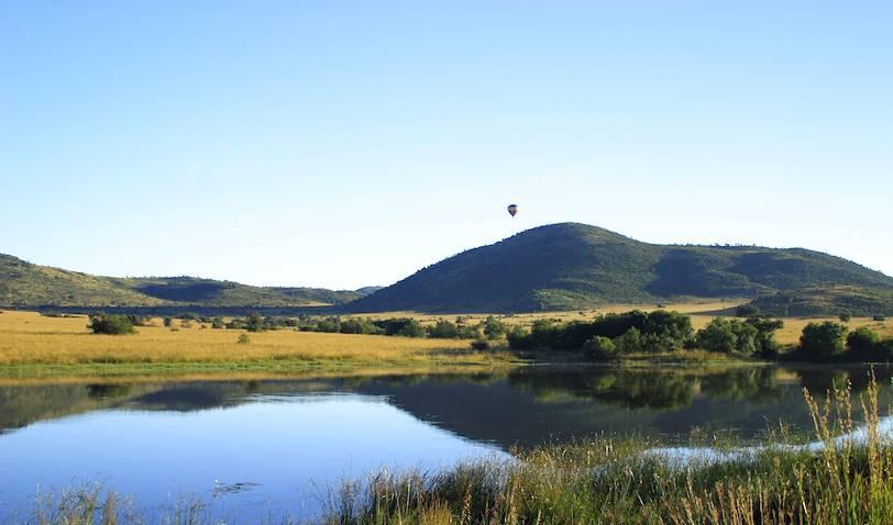 Survol en montgolfière du parc du Pilanesberg - Afrique du Sud