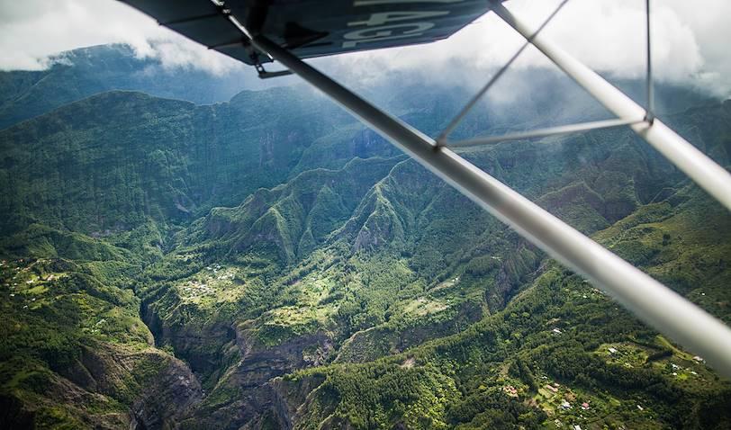 Survol de l'île en ULM - Mafate - Région Ouest - La Réunion