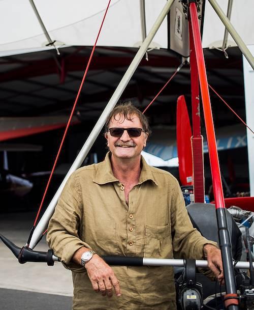Survol de l'île en ULM : portrait du pilote - St Paul - Région Ouest - La Réunion