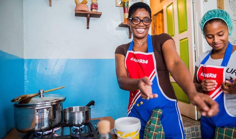 Cours de cuisine avec Tchicau - Mindelo - Île de Sao Vicente - Cap Vert