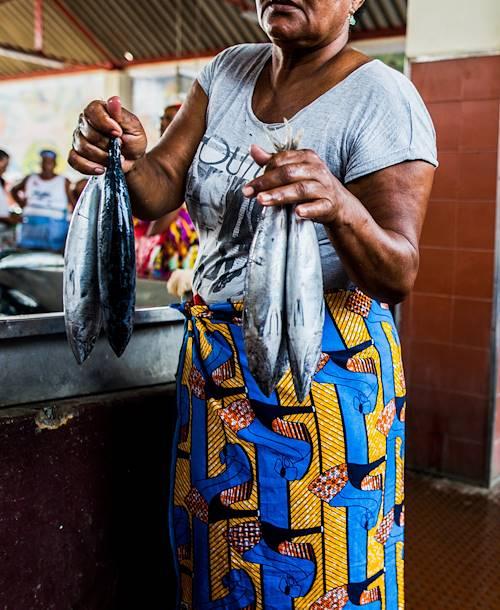 Courses au marché en compagnie de Tchicau - Mindelo - Île de Sao Vicente - Cap Vert