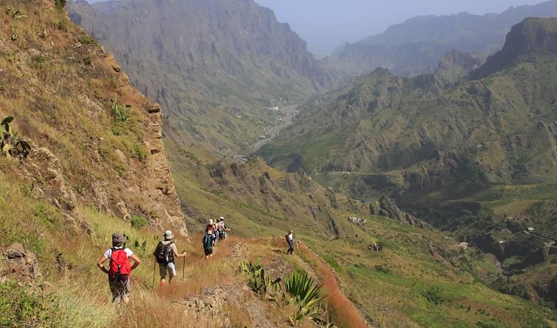 Sur le chemin des anciens volcans de Santo Antao - Santo Antao - Cap Vert
